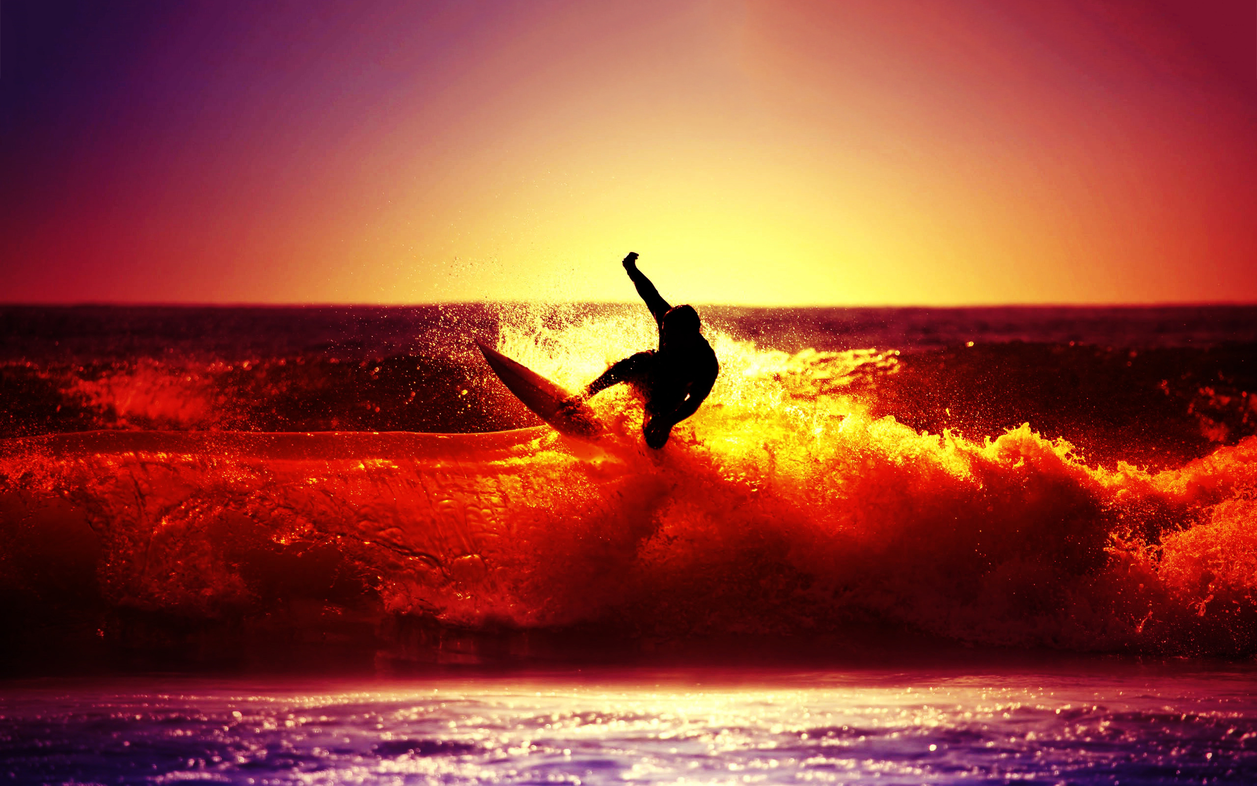 surfing-ocean-sunset